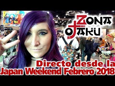 Directo desde Japan Weekend Madrid Febrero 2018!! Recorrido por todo el evento!!