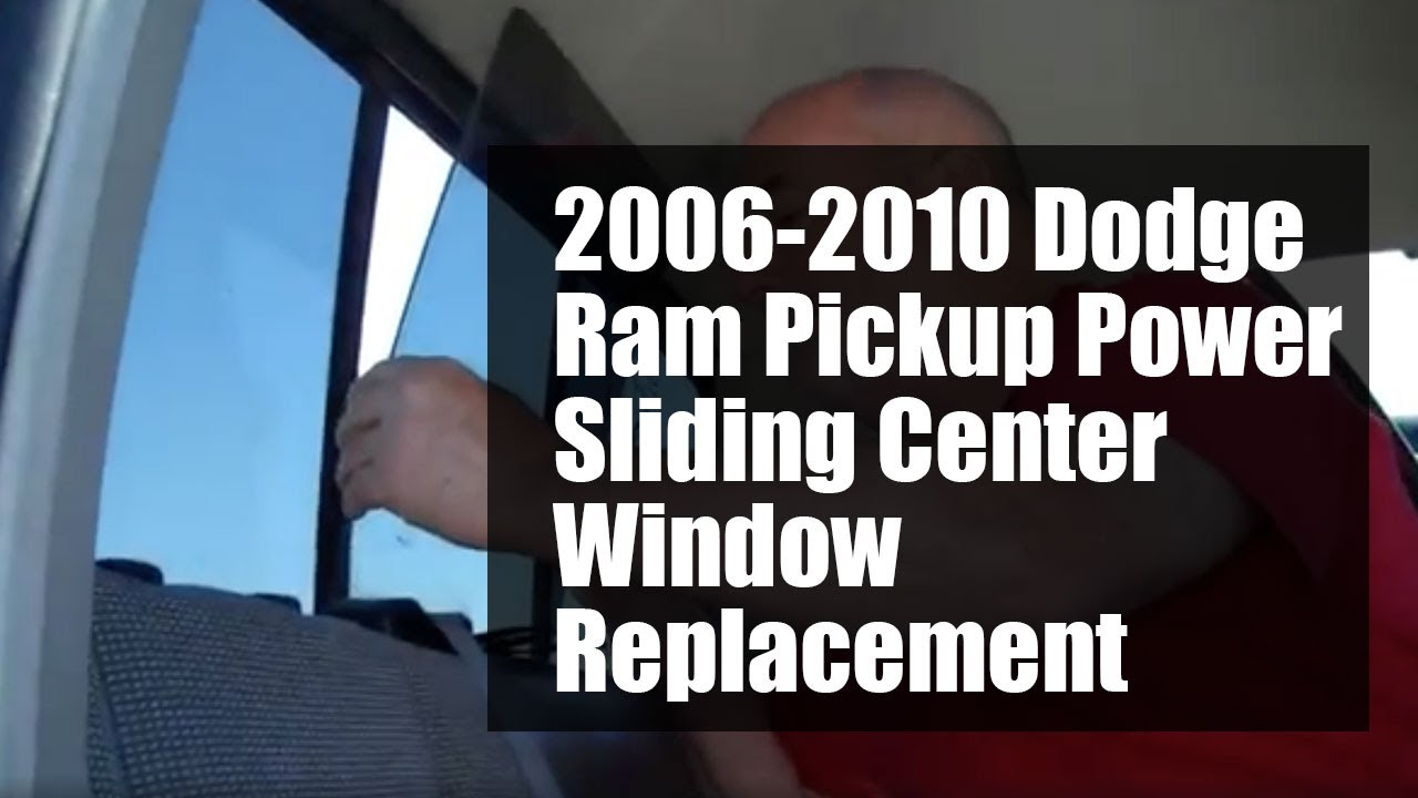 Rear Window Replacement >> DODGE RAM PICKUP POWER SLIDER 2005-2010 WINDOW REPLACEMENT ...
