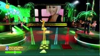 Dance Paradise 720P gameplay Atomic Kitten (Ladies Night) Xbox 360 Kinect