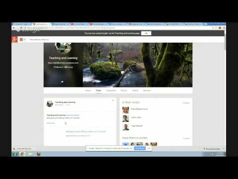 Combining Wordpress, G+ Pages and G+ Communities
