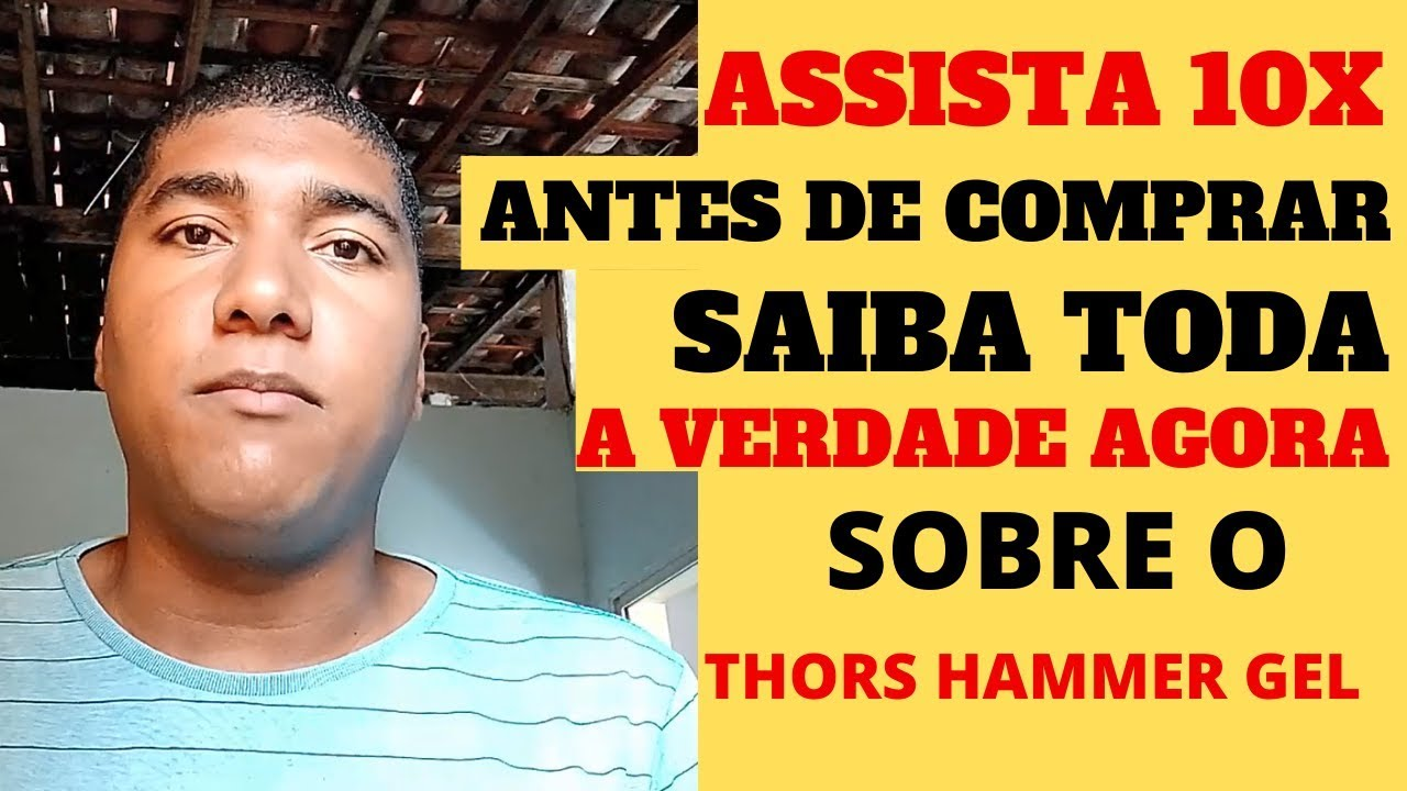 site oficial do thor's hammer gel