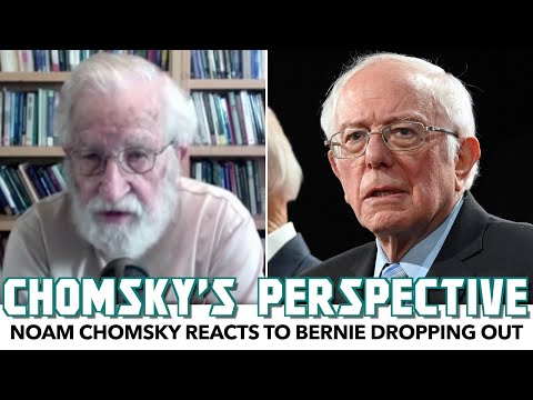 Noam Chomsky Reacts To Bernie Dropping Out