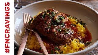 Osso Buco with Risotto Milanese | Food Network