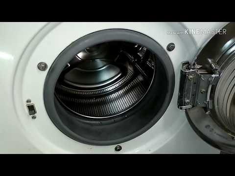 Разборка стиральной машины Миеле. Снимаем двигатель.