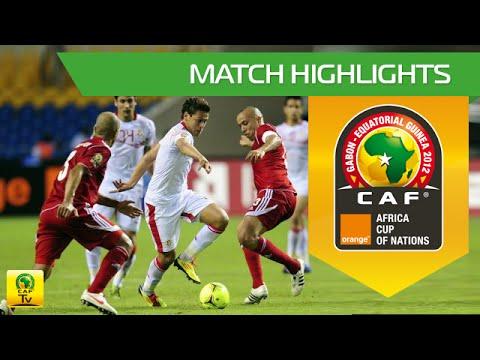Maroc vs Tunisie : Coupe d'Afrique des Nations Orange, GABON-GUINEE EQUATORIALE 2012