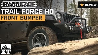 Jeep Wrangler Barricade Trail Force HD Front Bumper (2007-2016 JK) Product Summary