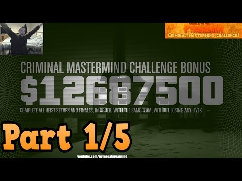 Completing The Criminal Mastermind Challenge! (livestream Part 1/5)