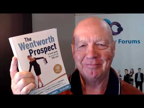 """""""The Wentworth Prospect"""" B2B sales novel is almost here"""