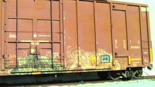 Railroad Boxcar in Siding