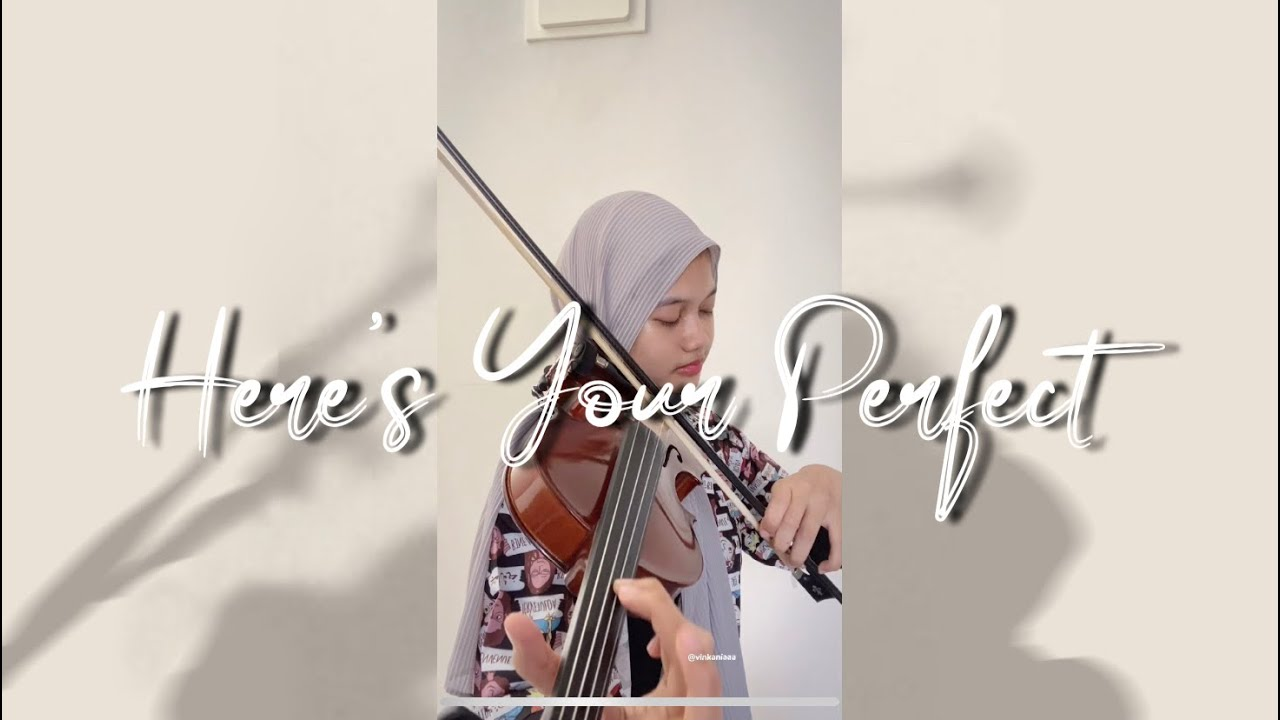 Here's Your Perfect - Jammie Miller (Violin Cover) | Vinka Violinist