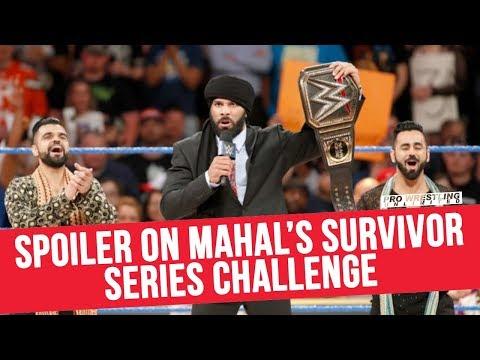 Spoiler On Jinder Mahal's Survivor Series Challenge Tonight On Smackdown