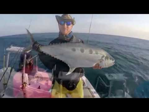 Light tackle Queenfish angling Inhac a