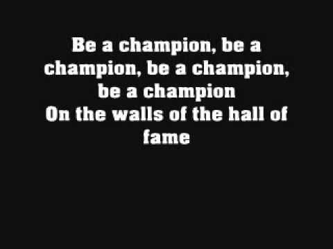 The script  Hall Of Fame feat.will.I.Am (Lyrics)