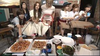 [AOA] Choa shows underwear on TV
