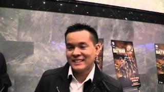 Comic Uno World Premiere Of Batman Bad Blood: Jay Oliva (Director)
