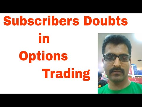 Traders Doubts - Options Trading Tips in Tamil