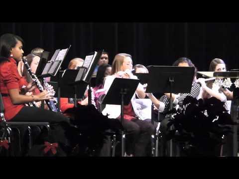 Kennedale High School Band Christmas Concert Dec 2011