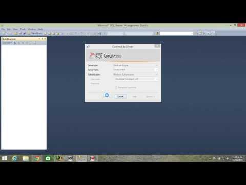 Adjuntar archivos mdf y ldf de una Base de Datos al Sql Server