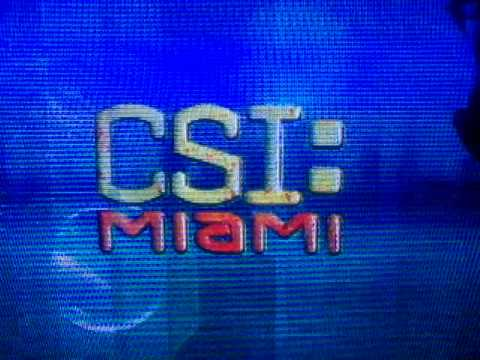 CSI:Miami Season 3 Intro With Speedle