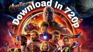 How to download AVENGERS INFINITY WAR in telugu || Telugu MOVIE DOWNLOADER