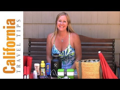 Beach Packing List - What to Pack for the Beach in California and Hawaii