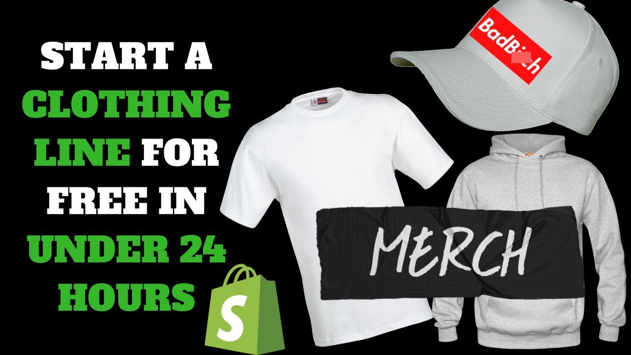 How To Start Your Own Clothing Line In Under 24 Hours For