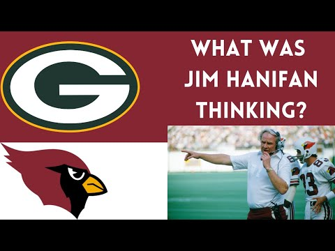 """[OC] [Highlight] In the 1st round of the 1982 playoffs against the Packers, Cardinals head coach Jim Hanifan made a series of strange decisions. He called 3 straight goal line runs with a 3rd string 5'9"""" HB, and then kicked an 18-yard FG. The Cardinals lost. This is a breakdown of that sequence"""