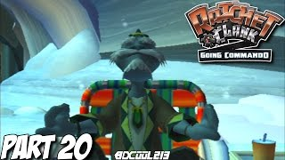 RATCHET & CLANK GOING COMMANDO GAMEPLAY WALKTHROUGH PART 20 PLANET GRELBIN - PLAYSTATION 2 LETS PLAY