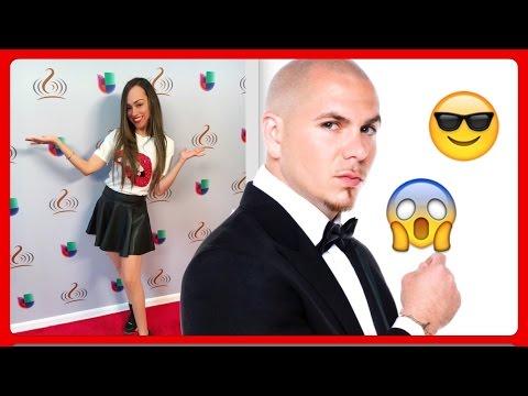 VLOG: Ensayos Premios Lo Nuestro y CANTANDO CON PITBULL?!