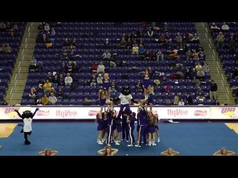 University of Northern Iowa Cheerleading (2015)