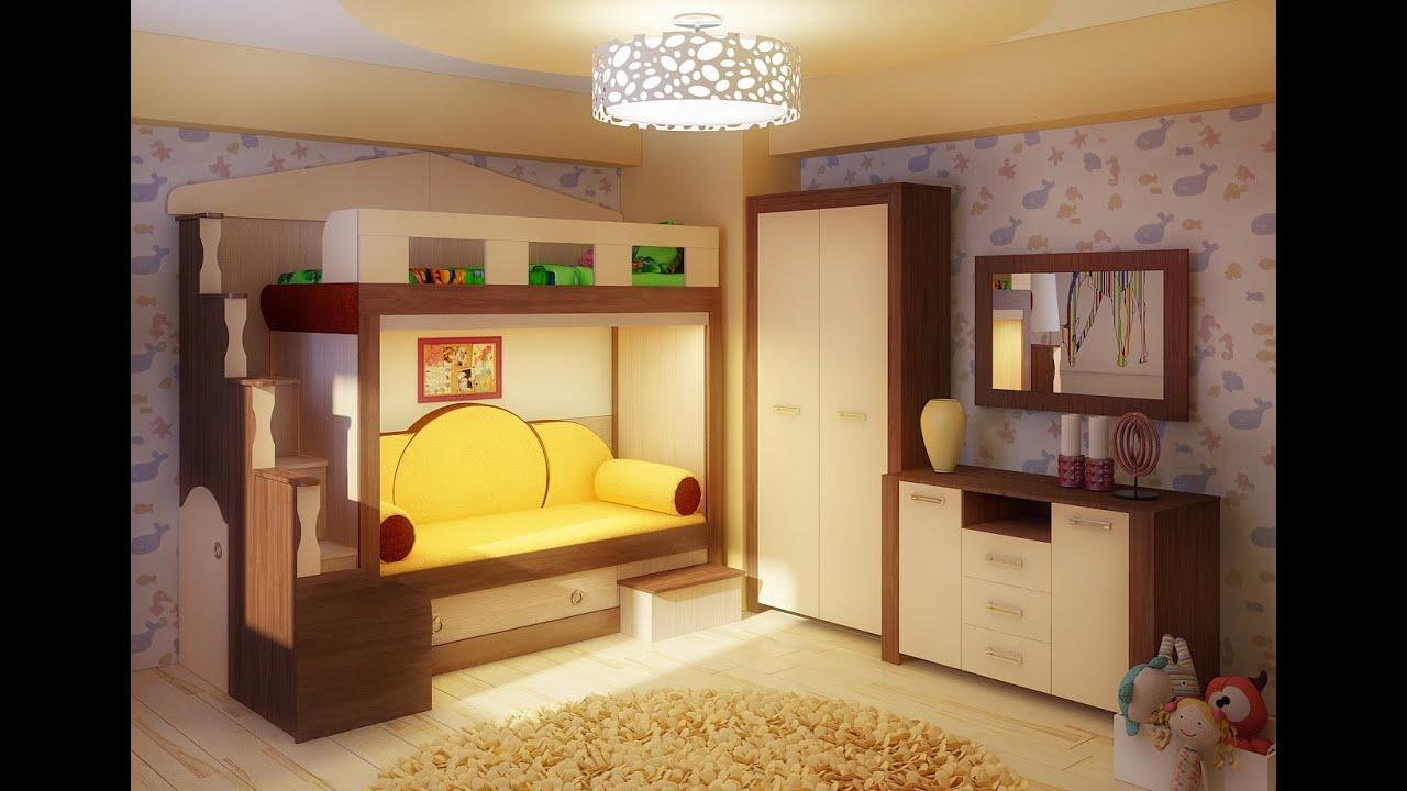 Скания, Двухуровневая кровать из Мебеллев - YouTube