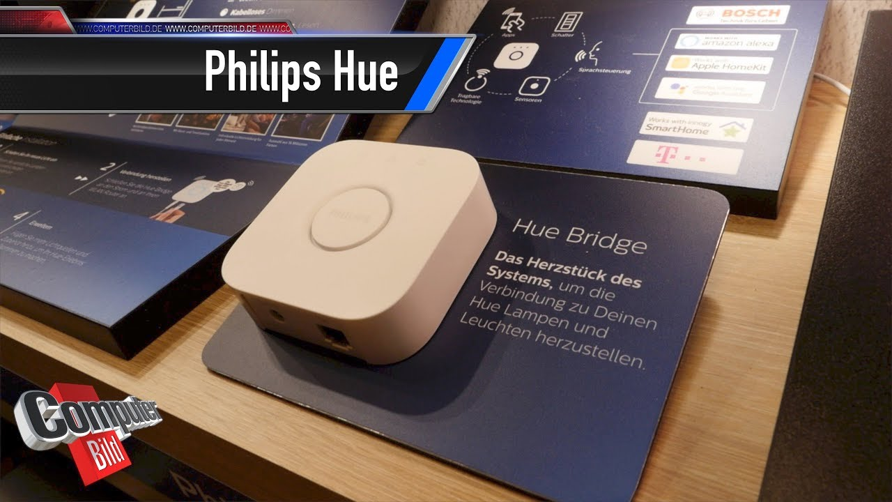 bringt licht ins dunkel philips hue auf der ifa youtube. Black Bedroom Furniture Sets. Home Design Ideas