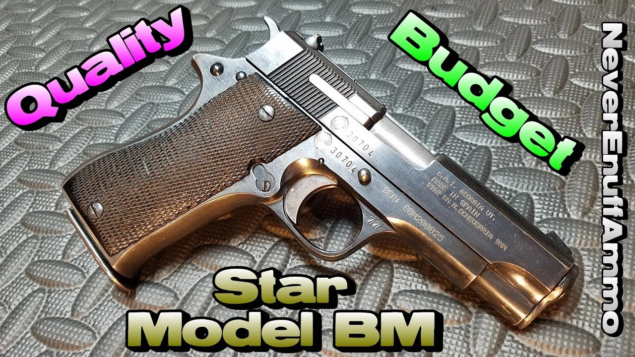 hight resolution of star model bm pistol quality on a budget