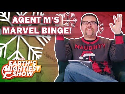 What to Binge Over the Holidays with Agent M | Earth's Mightiest Show Bonus