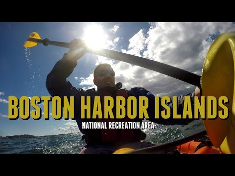 Boston Harbor National Rec. Area - Epic Kayaking (Vlog)
