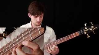 Left Hand Technique For Bass Guitar (Beginning and Advanced!)