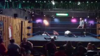 Sonny Andolini vs Frankie Andolini & Vinny DeMarzo @ Real Action Wrestling 7-21-09 Part 1
