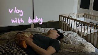 잠투정하는 힘센 아기 리찌 육아기록 / 아, 토끼형~ …