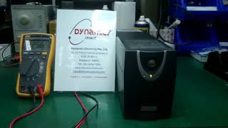 Advice UPS SMB 650 Repairs by Dynamics Circuit (S) Pte. Ltd.