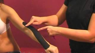 Kinesiology taping EPICONDILITIS. Vendaj...