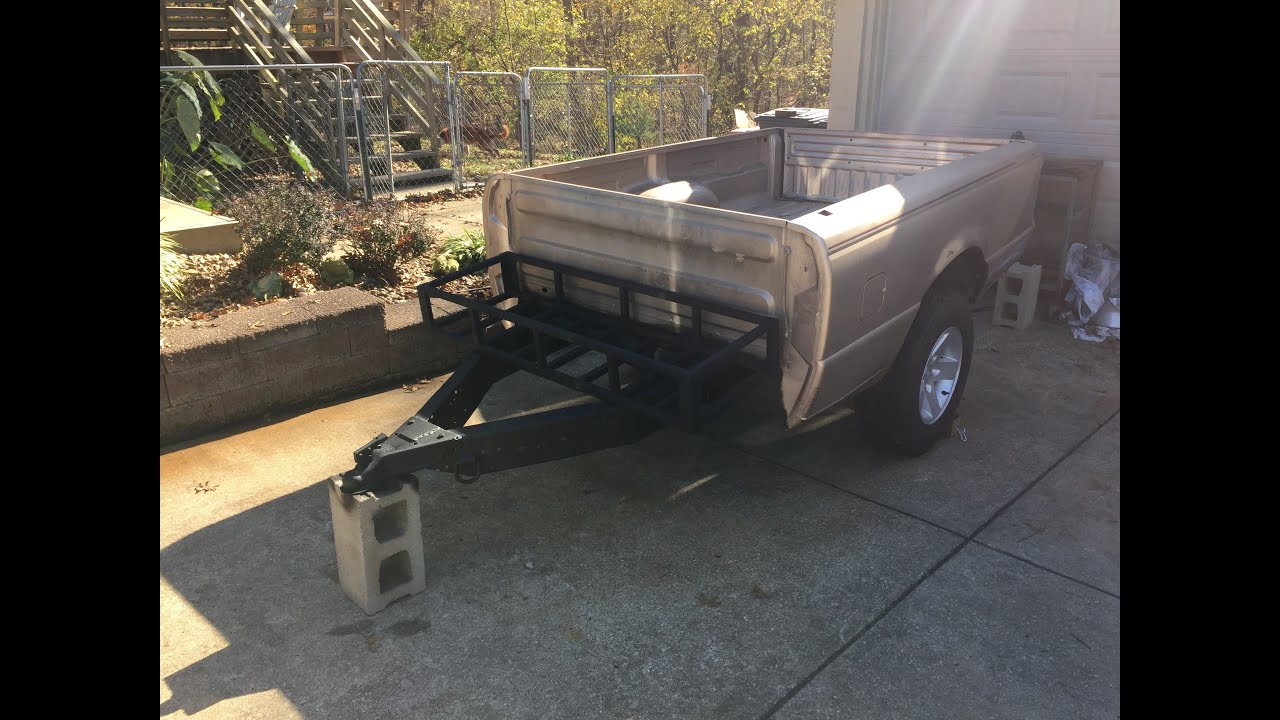 off road truck bed trailer build 4 youtube