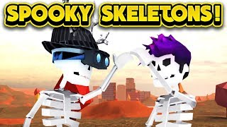 SPOOKY SCARY SKELETONS IN JAILBREAK 2! (ROBLOX Jailbreak)
