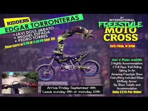 Freestyle Motocross Show & Trail Riding In Spain All In The Same Weekend