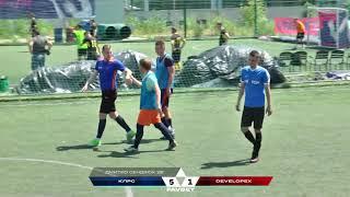 Фото Обзор матча   КЛРС 8 : 4 DEVELOPEX #SFCK Street Football Challenge Kiev