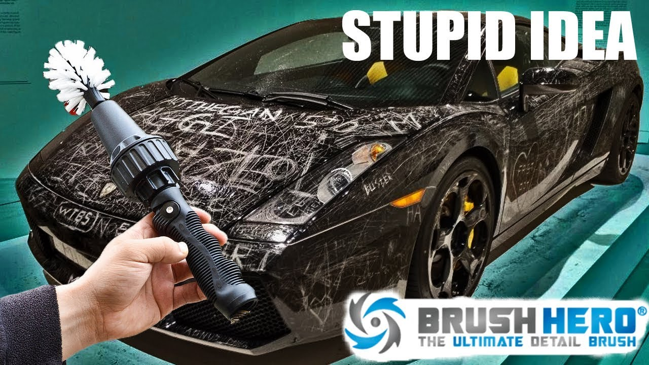 Should we hate Brush Hero THE WORST INVENTION FOR CARS - Idiot ...
