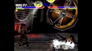 Mortal Kombat Gold (Dreamcast) Arcade as Johnny Cage