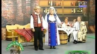 Victoria Vlase si Constantin Badea - Pandelasul  (La Hanu' lu' Nea Marin - Inedit TV - 13.