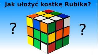 Repeat youtube video Jak ułożyć Kostkę Rubika 3x3? Najprostsza metoda + Najlepsze tłumaczenie