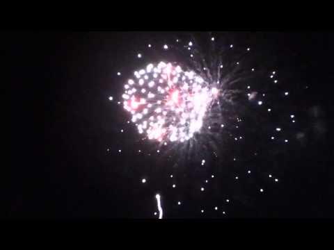 Fireworks at Muskingum county speedway 7/3/12