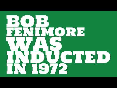 When was Bob Fenimore inducted into the College Football Hall of Fame?